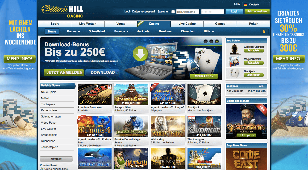 online william hill casino kostenlos spiele book of ra