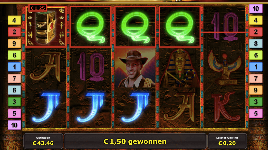 roulettes casino online book of ra gewinn