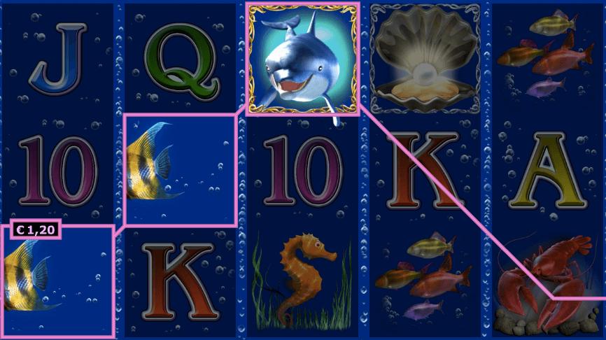 Dolphins Pearls Online Gewinn