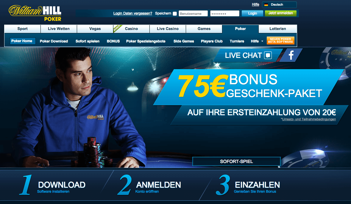 online william hill casino mega spiele