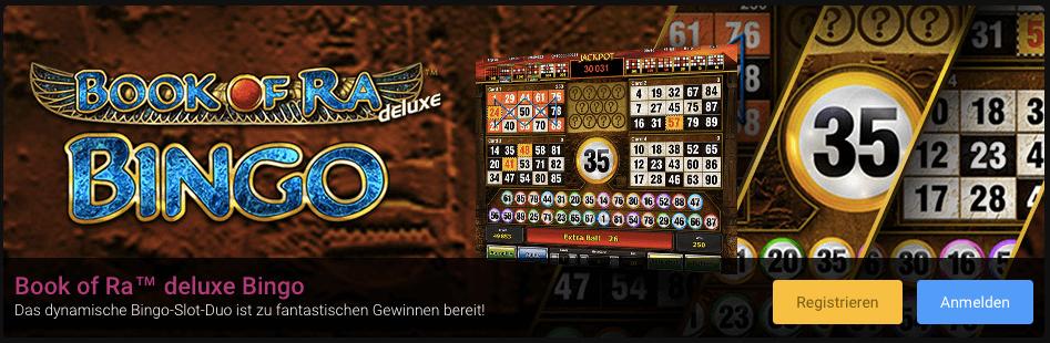 Book of Ra Bingo online spielen