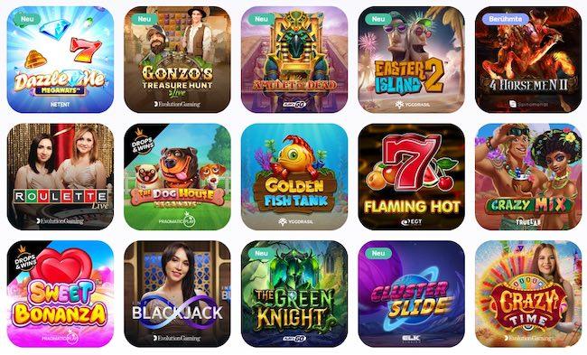 Permainan kasino Emojino